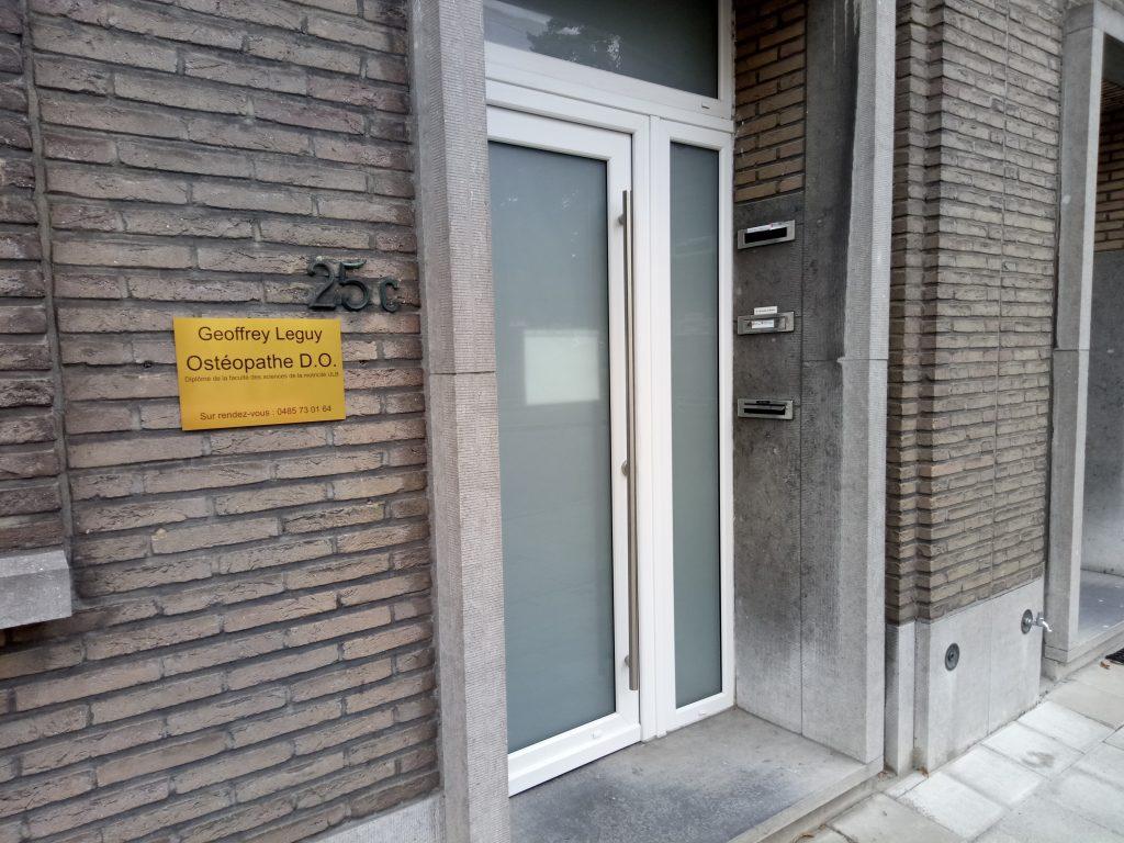 Cabinet ostéopathe Anderlecht